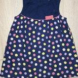 Платье в горошек H&m 12-18 месяцев