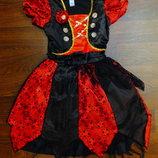 платье 3-4 года TU новогоднее карнавальное