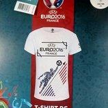 Футболка женская с эластаном серии UEFA and EVRO2016.Германия.р.евро44/46