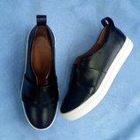 Туфли слипоны натуральная кожа/замша/лак размеры 36-41красные черные