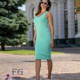 Платье майка Миди Размеры 42 - 44, 46 - 48