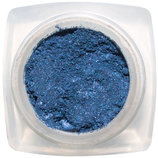 Минеральные тени. Благородные и яркие синие оттенки.
