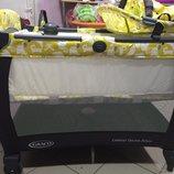 Детская кроватка-манеж Graco Contour Electra Deluxe