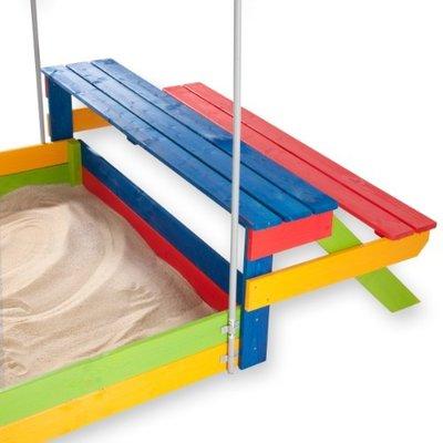 Детская деревянная песочница