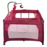 Детский Манеж - Кровать с игровым мобилем G 400-8