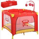 Детский Манеж - Кровать с игровым мобилем G 400-3