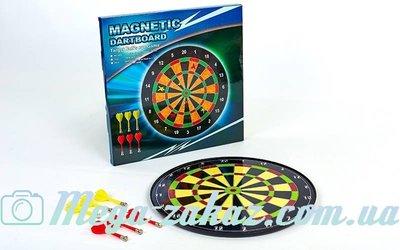 Мишень для игры в дартс магнитная/дартс магнитный Baili 17017 диаметр 40см, 6 дротиков