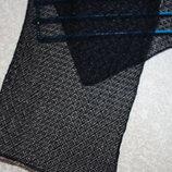 Шарф платок 81х33 см косынка, летний, нарядный, б/у, ньюансов нет- как новая