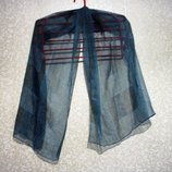 Шарф платок 77 х 73 см косынка, летний, нарядный,