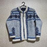 Кофта Norway р.34-36 , мериносовая virdgin шерсть свитер NORDSTRIKK