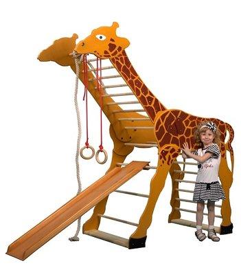 Детский спортивный уголок для малышей - Жираф