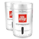 Illy Espresso Dark кофе молотый, 100% премиум арабика