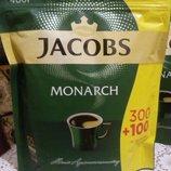 Сублимированный растворимый кофе Jacobs Monarch в экономной упаковке 400г