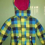 Зимняя термокуртка Тополино Германия , размер 104. Сток. Цену снизила