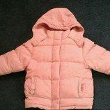 Тёплая зимняя куртка курточка