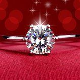 Серебро 925 проба. Серебряное кольцо с цирконием. Новое в наличии.