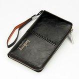 Портмоне Baellerry Leather черный