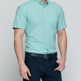 в наличии мужская рубашка LC Waikiki с коротким рукавом цвета ярко небесного