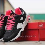 Кроссовки Puma trinomic black pink