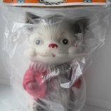 Кот котенок резиновая игрушка новая 16см Ссср