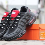 Кроссовки Nike Air Max 95 black red