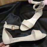Босоножки сандалии кожаные натуральные 36-41р Новая коллекция лето