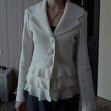 пальто молочного цвета новое