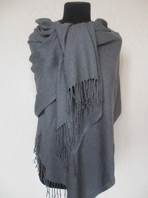 Палантины пашмины турецкие тонкие разные цвета серый меланж  170 грн ... a427216681b