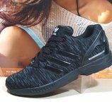 кроссовки мужские adidas zx flux черный 41р-45р