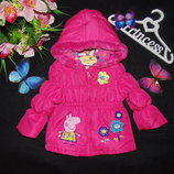 12-18мес. Гламурная куртка Peppa Pig.Мега выбор обуви и одежды