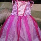 Карнавальное новогоднее платье бабочки c крыльями на 7-8 лет Tesco