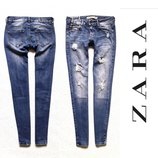 Винтажные джинсы от Zara