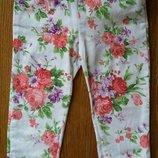 Легкие штанишки-треггисы на 2-3 года