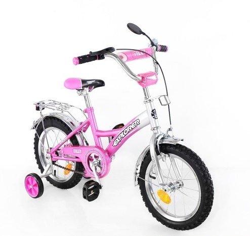Дивчачий 2-х колесный велосипед