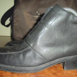 Шкіряні жіночі ботинки Canda