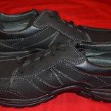 фирменные кожаные мужские туфли Fretz Men