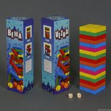 Деревянная игра Вега Джанга Башня 51 деталь 0770 / 779-2000