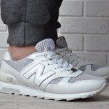 Кроссовки кожаные New Balance 368 мужские белые