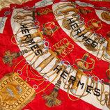 платок Hermes Cliquetis шелк 85Х87 идеал косынка Louis Vuitton Burberry Gucci