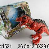 Динозавр на батарейках ., свет, звук, в коробке 36,5 13,0 29,0см