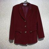 Пиджак YALI р.42-46, женский, распродажа, цвет вишня, оригинальная модель см замеры