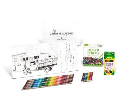 Crayola Color Escapes Розмальовки & Олівець Kit