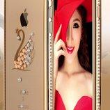 Зеркальный чехол силиконовый для Iphone 5 5S 6 6S