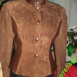 Замш Кожа женская куртка на S