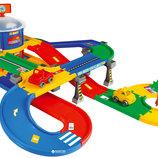 Гараж с дорогой Kid Cars 3D,5,5м 53130 Wader Вадер парковка