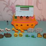 Деревянная игрушка Ноев ковчек
