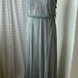 Платье вечернее в пол Adrianna Papell р.48 7492