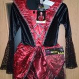 Карнавальное платье на Хеллоуин. С тиарой.