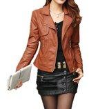 куртка женская Хит демисезонная пиджак женский ветровка парка косуха кожзам