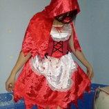 Карнавальный костюм Красная Шапочка Хеллоуин. Взрослый.